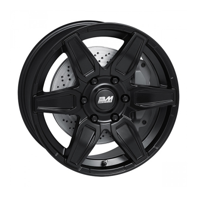 BM Wheels Macho M.Blk