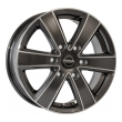 Mega Wheels Hercules 6 Ant. grey